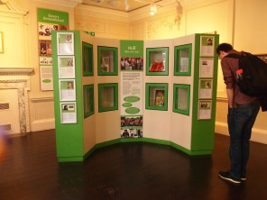 The contemporary gallery also features local stories of people who have settled in Hull.